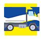 Veículos possuem alvará para transporte de alimentos e são inspecionados pela vigilância sanitária